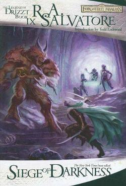 siege of darkness (legacy of the drow #3)